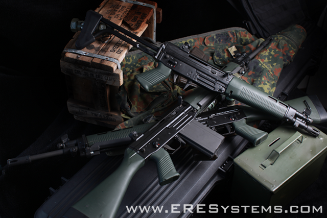 The FAMAE Sg-54x Series of ERE Elite and ERE Tactical Elite rifles
